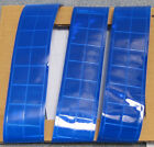 Blue gloss sew on REFLECTIVE TAPE 50-yard roll PVC 2-inche wide