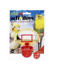 JW PET BIRD TOY BIRDIE BASKETBALL PARAKEET COCKATIEL FREE SHIPPING TO THE USA