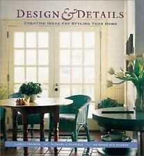 Design and Details : Creative Ideas for Styling Your Home by Candie Frankel,...