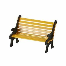 Dept 56 Village City Wrought Iron Park Bench #4025440 D56 New in Packaging