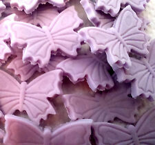 24 PRETTY EDIBLE BUTTERFLIES Sugar cake decoration cupcakes birthday wedding