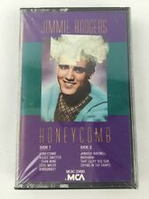 JIMMIE RODGERS Honeycomb Cassette Audio 1988