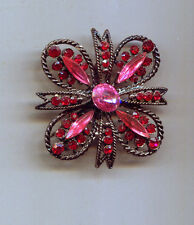 Rafaelian Red Pink Maltese Pin