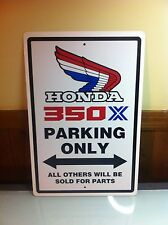 Honda ATC350X Custom Aluminum Sign 85 86 1985 1986 Decals350X ATC