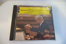 MOZART CD PIANO CONCERTOS N°9 & 17 - RUDOLF SERKIN .CLAUDIO ABBADO .DGG.