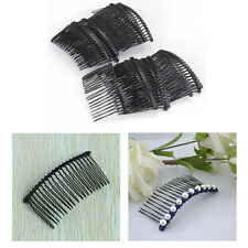 Lots 20x/set Black Metal Hair Comb Clip Pin Accessory Wedding Hot Gift