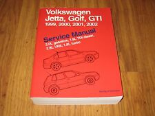 Volkswagen Jetta, Golf, GTI A4 Service Manual: 1999, 2000, 2001, 2002