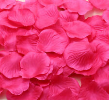 100pcs NEW rose red Simulation Rose Petals Flowers For Wedding Party Decoration