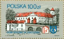 The house of Polish colony in Pultusk -1989