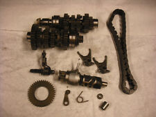 KAWASAKI EX500 TRANSMISSION SHAFT GEARS SHIFT FORKS NICE 1988