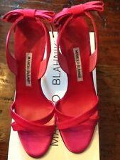 Manolo Blahnik Sandal - Pink - Size 39 US Size 9 NIB $695.00