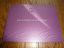 1997 Plymouth Prowler Large Launch Sales Brochure