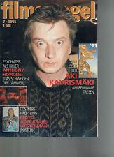FILMSPIEGEL 7/1991  ANTHONY HOPKINS: DAS SCHWEIGEN DER LÄMMER BERLINALE (FS635)