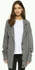NEW Callahan Gray Heathered Oversized Cardigan Retails $178 Size Medium