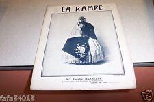 REVUE LA RAMPE N° 234 Mlle LUCETTE DARBELLE 14 05 1921