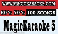 BRAND NEW MAGIC SING Karaoke Song Chip 60's-70's Rock Dancing Queen by Abba