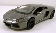 "Kinsmart Lamborghini Aventador LP 700-4 1:38 scale 5"" diecast model car Gray K38"