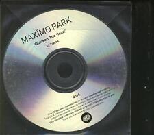 MAXIMO PARK Quicken The Heart PROMO CD ALBUM warp records