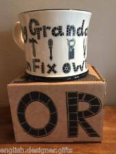NEW Moorland Pottery My Grandad Can Fix Owt Mug - Gift Boxed - Fathers Day Gift