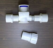 Pressure Reducer PVC Water Regulator + Garden Hose Adapter *Chicken Drinker Cups