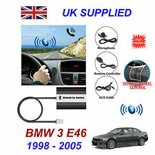 BMW 3 E46 Bluetooth Hands Free Phone AUX Input MP3 USB 1.0A Charger Module 98-05