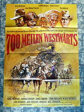 700 MEILEN WESTWÄRTS / BITE THE BULLIT * A1-FILMPOSTER - German 1-Sheet 1975