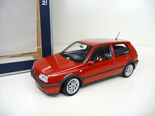 1:18 NOREV vw golf 3 III GTI rouge red Limited Edition 1000 NEUF NEW
