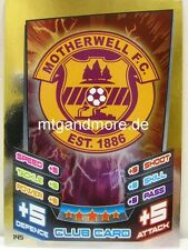 Match Attax 2012/13 SPL - Scottish Premier League - #145 Motherwell - Club Card