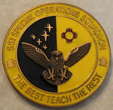 Gen Leahy 551st Special Operations Squadron Commander Air Force Challenge Coin