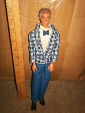 Barbie Ken Grandpa doll with graying hair & original clothes on