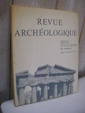 REVUE ARCHEOLOGIQUE 1982 n°1 sphinx des monnaies de Chion  Athènes ...