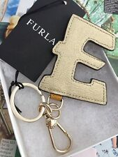 Furla Keyring RRJ25 SSM IT'S ME Gold Girasole Genuine Leather 100% Authentic NEW