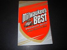 MILWAUKEES BEST miller Rectangle Logo STICKER decal craft beer brewery brewing
