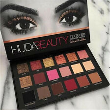 Huda Beauty Eyeshadow Palette 18 Colors Makeup Rose Gold Textured Pallete