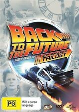BACK To The FUTURE TRILOGY 1+2+3 DVD 3-MOVIES+BONUS BRAND NEW SEALED TOP 250 R4