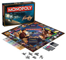 MONOPOLY: FIREFLY COLLECTION EDITION BOARD GAME BY USAOPOLY FREE SHIPPING!