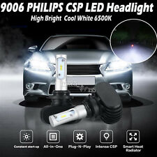 HOT 9006 HB4 Philips 180W 18000LM CSP Car Auto LED Headlight Bulbs Kit Newest 2x