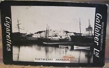 PORTAFERRY HARBOUR Co Down Cigarette Card GALLAHER IRISH VIEWS 375 Nortn Ireland