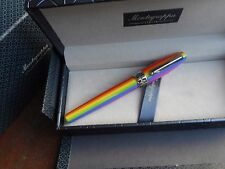 MONTEGRAPPA FORTUNA RAINBOW FOUNTAIN PEN 2017 COLLECTION