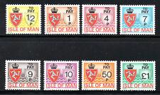 (ref-7254) Isla De Man 1975 franqueo pago Set De 8 sg.d 9/d16 Mint (mnh)