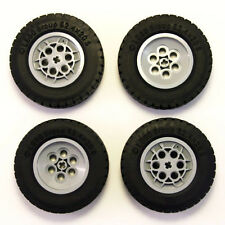 Lego Technic - Large Wheels Tyres Tires - Set of 4 - Big Massive 62.4x20mm - NEW