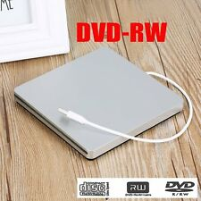 Portable USB 2.0 Inhaled DVD RW CD ROM Drive Burner Writer For Windows Mac Linux