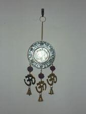 CAMPANA OTTONE OHM campanella metallo india induismo orientale buddha rudraksha