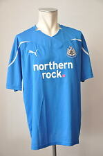 2010-11 Newcastle United Trikot Gr. XL Puma Jersey northern rock. blau