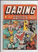 DARING MYSTERY COMICS #5 ==  VG+ TIMELY 1940 SCHOMBERG COVER EARLY TIMELY/MARVEL