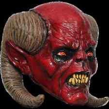 BRAND NEW Ram Horn Hell Demon DELUXE ADULT LATEX BALAM DEVIL BEAST MASK
