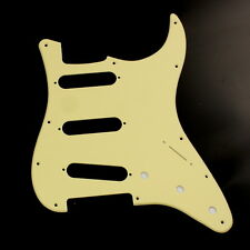 Single-Ply Guitar Pickguard for Stratocaster Strat Standard ,Cream