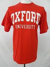 New Oxford University T-shirt by Fruit of the Loom, 100% cotton, Size Medium