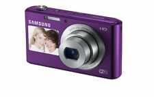 Samsung DV150F 16.2MP Smart WiFi Dig Camera W/ 5x Opt Zoom & Dual LCD, Purple