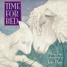 TIME FOR BED  (HARDCOVER) very good condition SMOKE FREE HOME 1997 EDITION